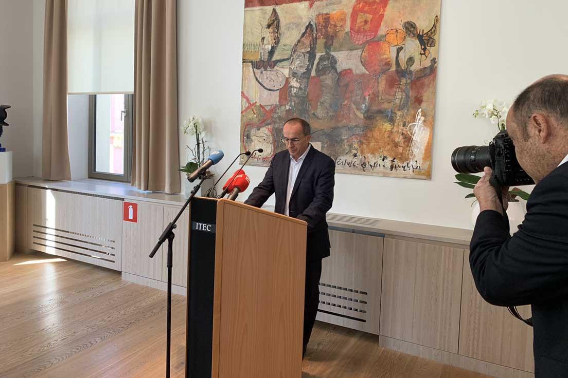 Roberto Traversini a annoncé son retrait de sa fonction de bourgmestre de Differdange le 20 septembre. (Photo: Paperjam)