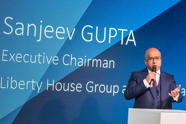 Le CEO de Liberty House, Sanjeev Gupta, s'est attaché les services du Luxembourgeois RolandJunck, ancien président d'ArcelorMittal, pour le Royaume-Uni et l'Europe. (Photo: Nader Ghavami)