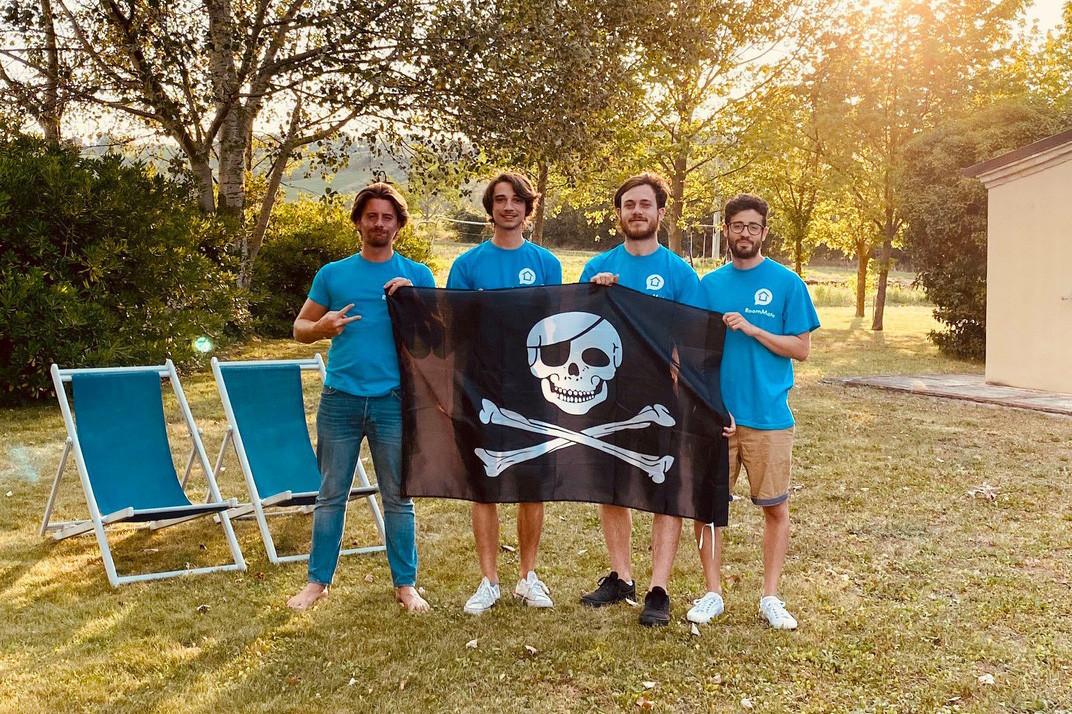 Le passage par Fit4Start et la traction du marché ont dopé l'activité de RoomMate et de ses quatre «pirates» de fondateurs italiens. (Photo: RoomMate)