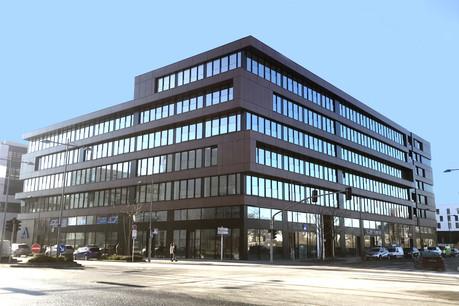 Le Rouden Eck à Esch-Belval est un immeuble mixte de 15.000m2. (Photo: Tracol)