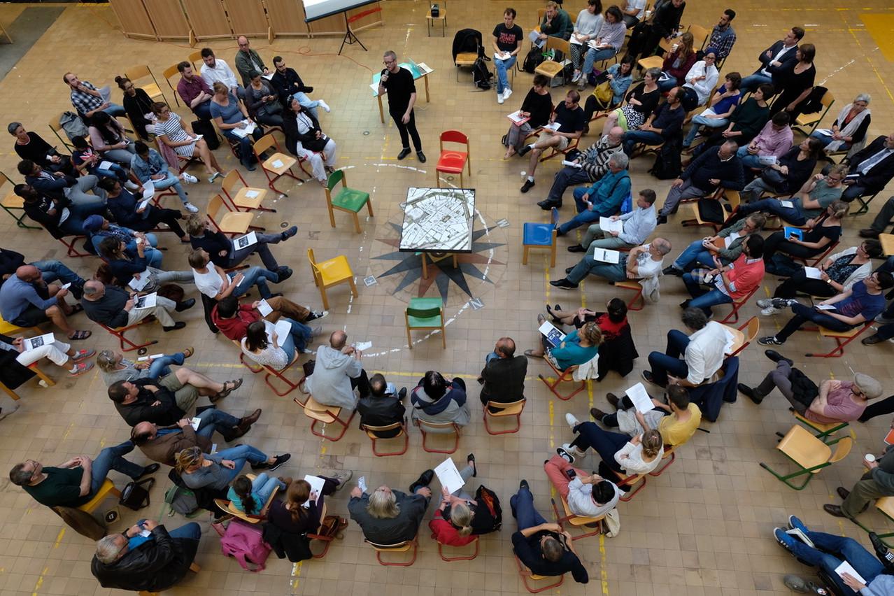 Exemple d'atelier de réflexion à Bruxelles Photo © CityTools