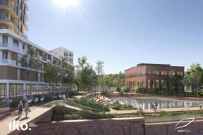 Nouvel aménagement autour de la Halle des Soufflantes. ((Illustration :Reichen et Robert & Associés))