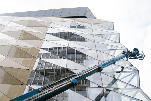 Codic espère avoir terminé le bâtiment à la fin de cette année, 10 ans après avoir remporté le concoursde la consultation Royal-Hamilius. (Photo: Matic Zorman / Maison Moderne)