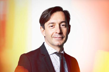 Brice Lecoustey,Partner & Digital Leader,EY Luxembourg. (Photo: Maison Moderne)