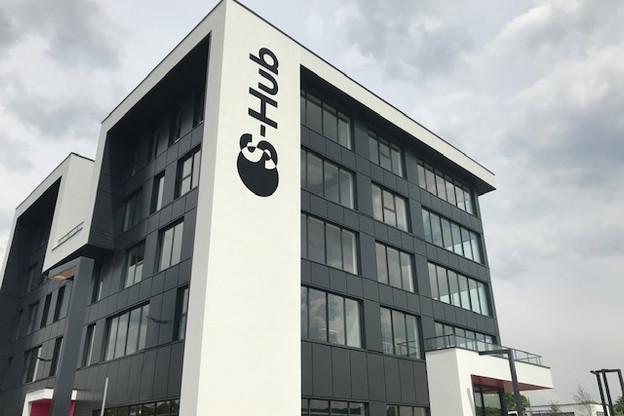 En chiffres, le S-Hub représente un bâtiment de cinq étages, d'environ 450m² chacun. La surface de plancher totale est d'environ 2.250m². (Photo: Paperjam)