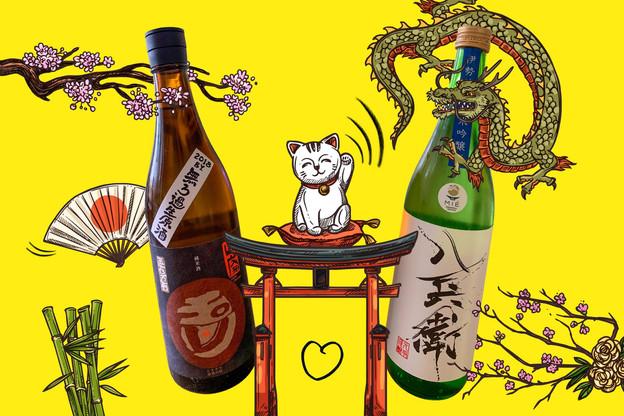 S'il est considéré comme un trésor national au Japon depuis des siècles, le saké s'invite enfin avec élégance sur la scène gastronomique mondiale. (Design: Sascha Timplan/Maison Moderne)