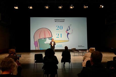 C'est dans un Studio du Grand Théâtre respectant scrupuleusement les consignes de sécurité sanitaire que Tom Leick-Burns a présenté une saison 20/21 des Théâtres de la Ville de Luxembourg à la fois unique et séduisante. (Photo: Maison Moderne)