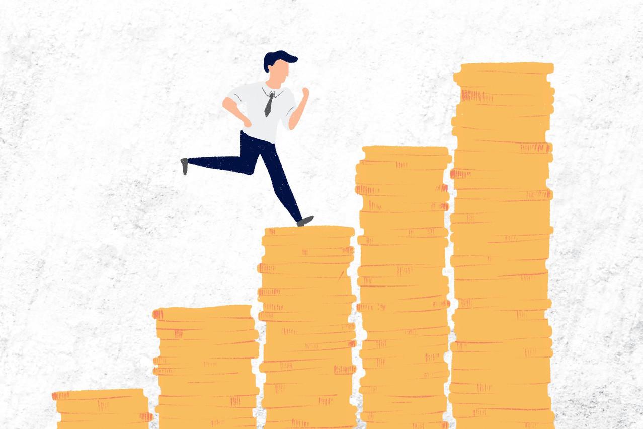 SelonRaphaël Cohen, les employeurs souhaitent recruter des banquiers capables de ramener rapidement des contrats, ainsi, «Il n'est pas rare que les banques privées demandent d'arriver avec un book de 200millions d'actifs sous gestion.» (Illustration: Ellen Withersova)