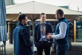 Clement Debever (Ernst & Young), Julien Dailland (Samsic) et Guillaume Bour (Losch) ((Photo: Mike Zenari))