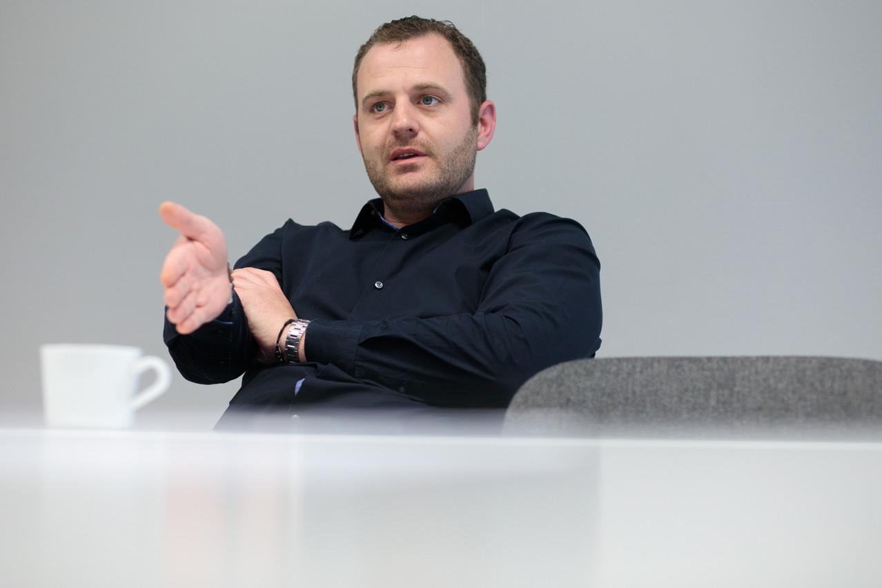 «Nous voudrions être plus en amont de projets dans l'immobilier pour envisager les différentes phases d'intervention», indique Julien Dailland,directeur général de Samsic Luxembourg. (Photo: Matic Zorman)