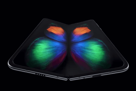 Le Galaxy Fold sera d'abord disponible en Corée du Sud, au prix de 2.020 euros. (Photo: Capture d'écran Youtube/Samsung)