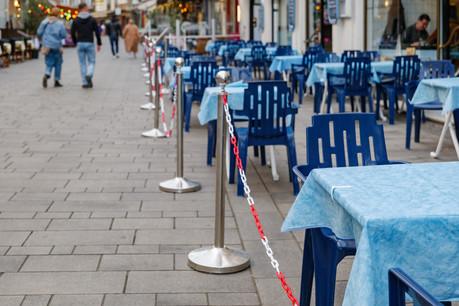Ouvertes depuis le 6 avril, toutes les terrasses de la Sarre vont à nouveau fermer dès jeudi. (Photo: Shutterstock)