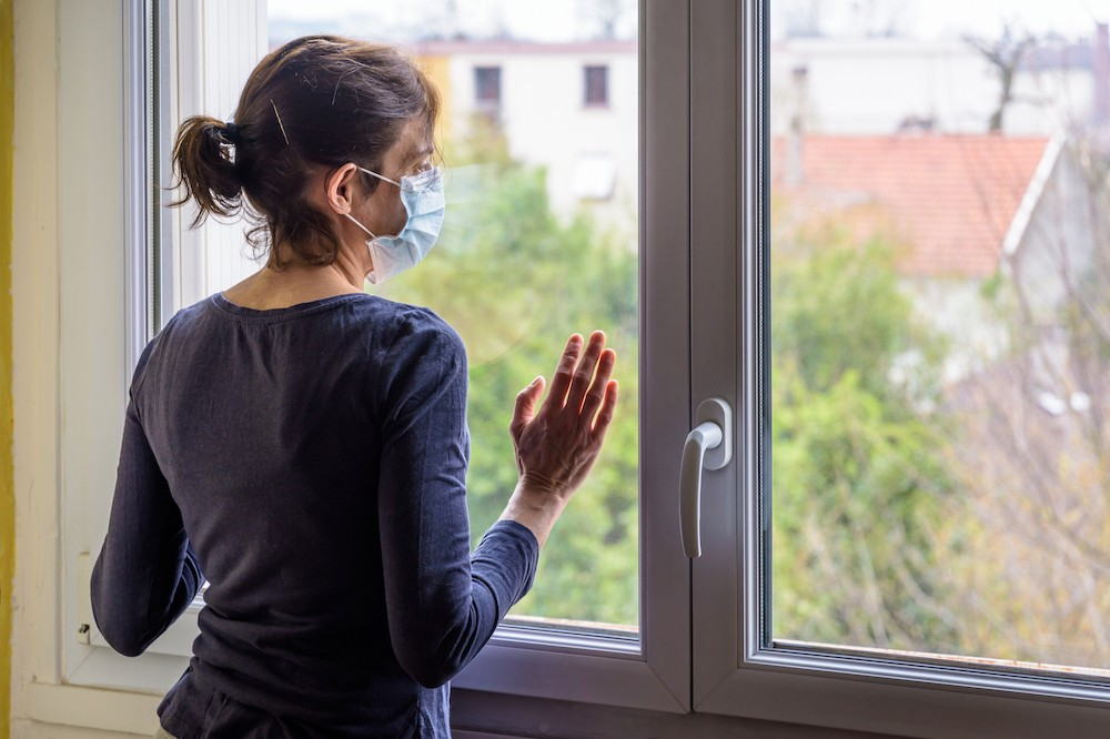 Le questionnaire mis en ligne permettra de mieux comprendre les effets psychologiques des mesures de distanciation au Luxembourg et dans les pays frontaliers. (Photo: Shutterstock)