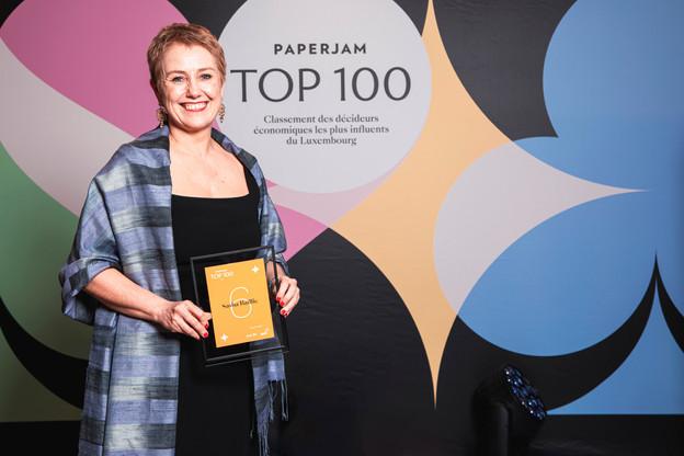 Sasha Baillie est à la tête de Luxinnovation et voit sa récompense comme une reconnaissance de l'importance de la diversité. (Photo: Julian Pierrot/Maison Moderne Publishing SA)
