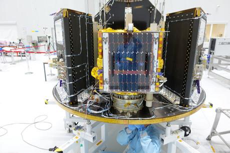 Le satellite est spécialisé dans la surveillance maritime. (Photo: ESA)