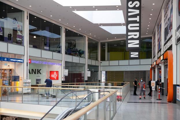 Saturn est présent notamment au centre commercial Belval Plaza, où son magasin va prochainement être renommé «Mediamarkt» et réduit à un étage au lieu de deux, tout comme à l'avenue de la Gare. (Photo: Romain Gamba / Maison Moderne)