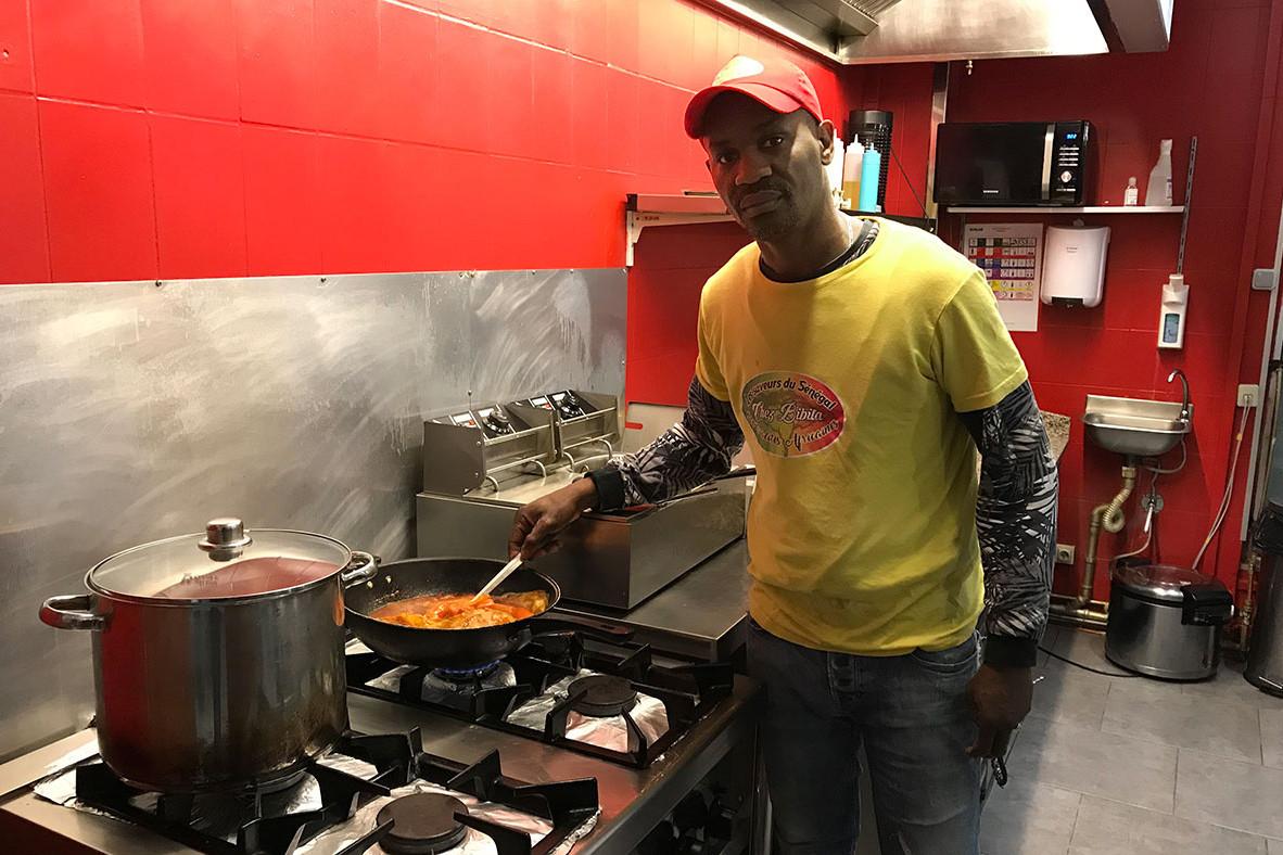 LaurentTall revendique la création du premier fast-food «African food» au Luxembourg. (Photo: Paperjam)