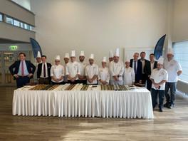 Les nouveaux menus ont été présentés, ce jeudi à Diekirch, par les étudiants, les professeurs et les équipes de Luxair. (Photo: Maison Moderne)