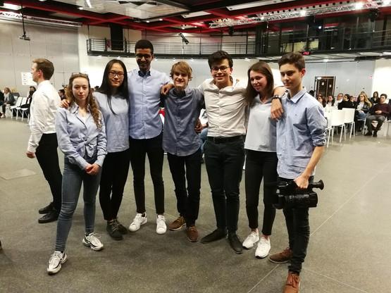 L'équipe de Say It représentera le Luxembourg au concours européen des mini-entreprises à Lille, les 4 et 5 juillet prochains. (Photo: Jonk Entrepreneuren Luxembourg)