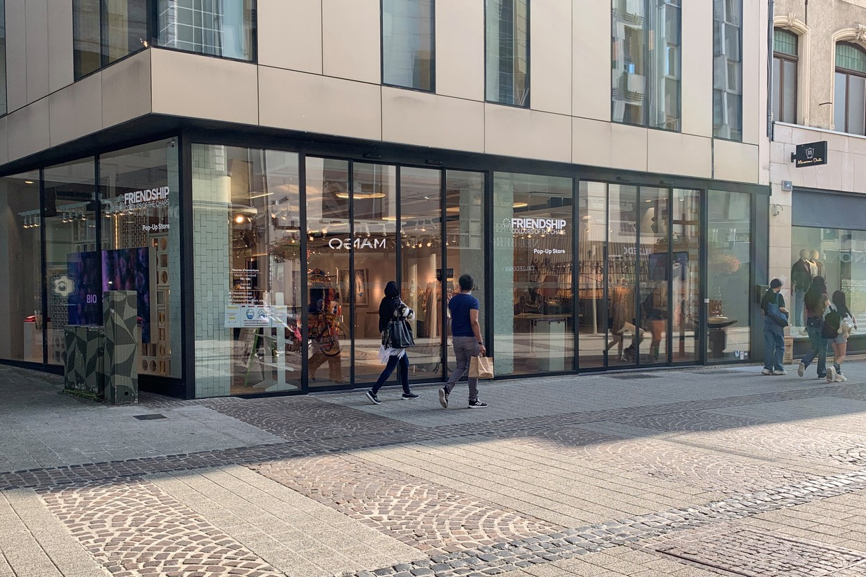 Bolia plans to open its new store on 28 October at the end of the Grand-Rue, opposite the former Zara. (Photo: Paperjam)