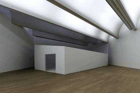 La proposition de Polaris Architects, pendant le montage de l'exposition. (Photo: Eric Chenal)
