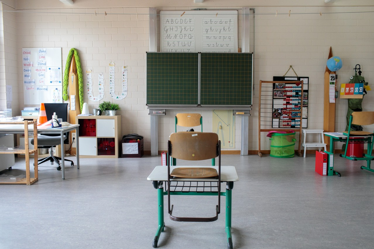 Nearly one in five (18.3%) Sars-CoV-2 infections last week were traced to the education sector Library photo: Matic Zorman / Maison Moderne