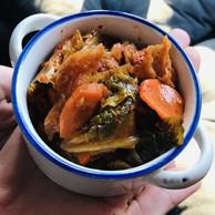 À choisir parmi les savoureux «sides» du Scott's: un kimchi explosif! (Maison Moderne)