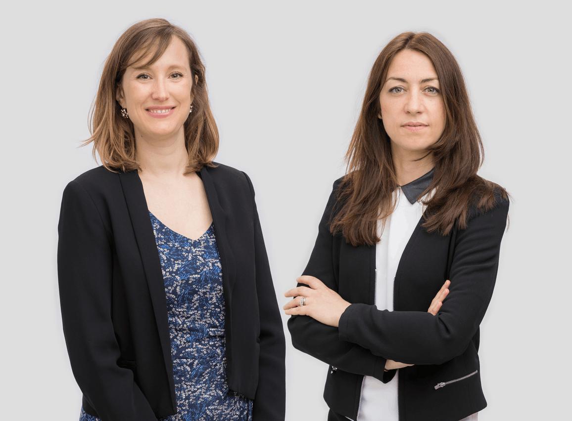 Claire Leonelli et Claire Denoual, Avocats à la Cour – Étude /c law. (Photo: /c law)