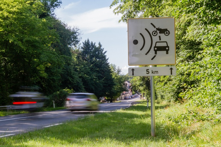 The average speed cameras measure velocity over a stretch of road Photo: Shutterstock