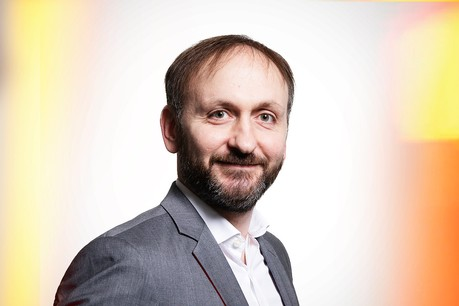 AnthonyLollieux, Head of Relationship Management chez Banque de Luxembourg. (Photo: Maison Moderne)