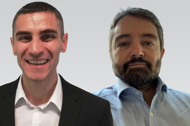 Stéphane Nassoy et Nicolas Masotti, spécialistes en cybersécurité & DPO certifiés chez Lusis. (Photos: Lusis / Montage Maison Moderne)