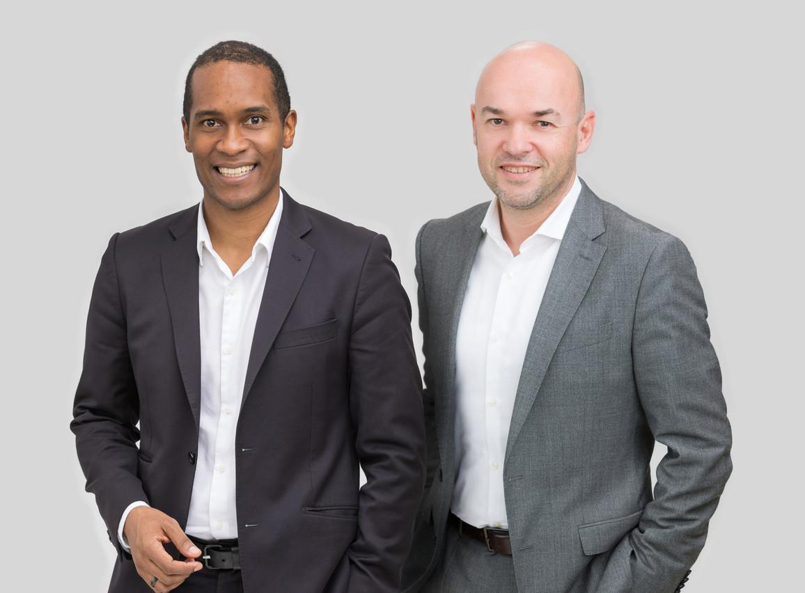 Mickaël Tome et Cyril Pierre-Beausse, Avocats à la Cour – Etude /c law (Photo: C-Law)
