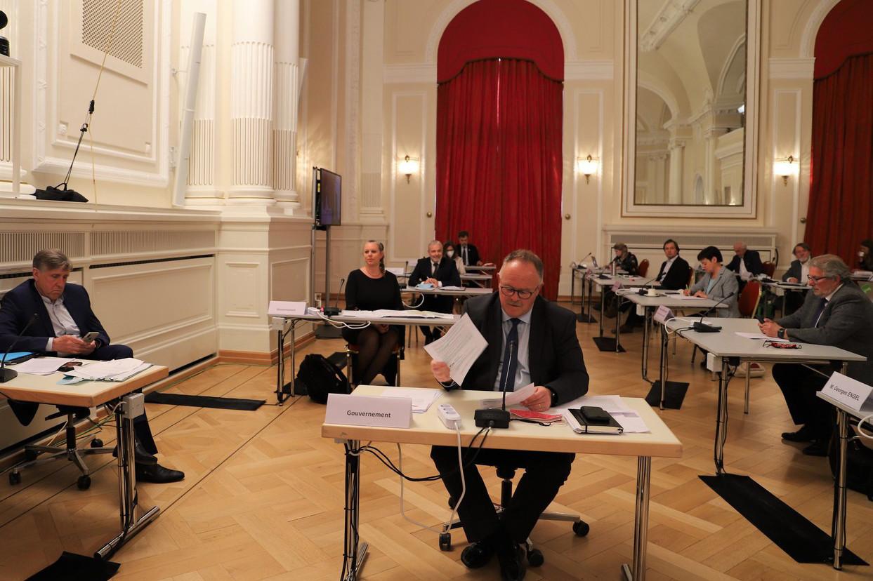 Le ministre de la Sécurité sociale, RomainSchneider, a présenté lundi 29 juin la situation financière de la Sécurité sociale, qui s'est nettement dégradée du fait de l'impact de la crise sanitaire. (Photo: Chambre des députés/Flickr)