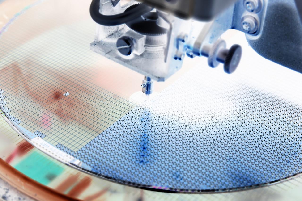 Le silicium est souvent utilisé comme matériau semi-conducteur. (Photo; Shutterstock)