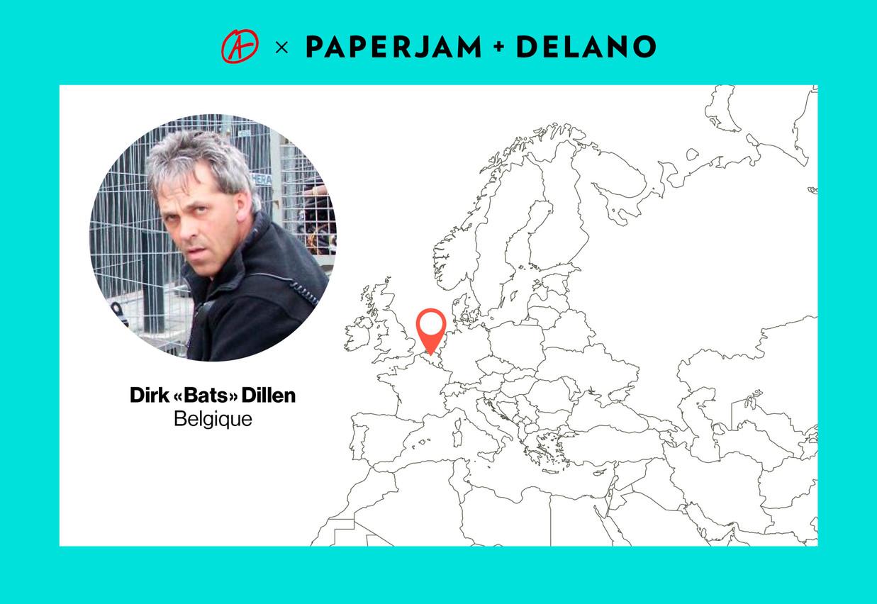 Pour Dirk Dillen, le côté fantastique de son métier l'aide à rester motivé. (Photo: l'Atelier/Maison Moderne)
