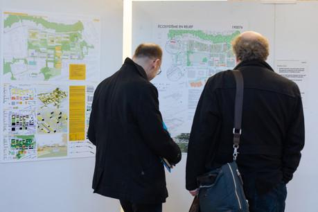 Les projets retenus par le jury sont exposés jusqu'au 1er février au Bierger-Center à Luxembourg. (Photo:Matic Zorman)