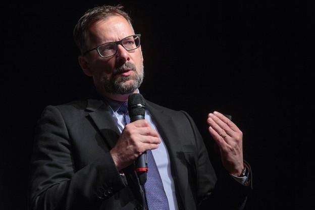 Steve Collar, CEO de SES depuis février 2018, tente de rassurer sur le potentiel du groupe pour le futur. (Photo: Matic Zorman/Archives)