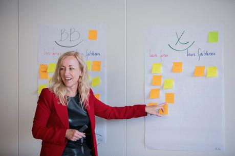 Béatrix Charlier:«Un bon manager se reconnaît à sa capacité à déléguer.» (Photo: Jan Hanrion/archives Maison Moderne)