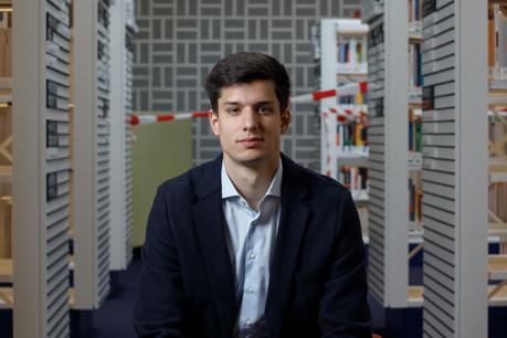 Pour le data scientist luxembourgeois Maxime Allard, l'IA ne peut pas être abandonnée aux sociétés privées. (Photo: Matic Zorman/Maison Moderne)