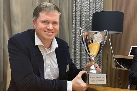 Vainqueur de la manche luxembourgeoise de la Coupe du monde des start-up, AaronTurner semble prêt à se retrouver dans les radars d'un secteur économique très sensible. De bon augure, après avoir sécurisé 3,5 millions d'euros de chiffre d'affaires en fin d'année. (Photo: Paperjam)