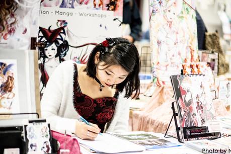 Sabrina Kaufmann (independent artist & mangaka). (Photo: DR)