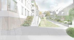 Les nouvelles résidences permettront de proposer des logements allant du studio à l'appartement 3 chambres. ((Illustration:A/2618))