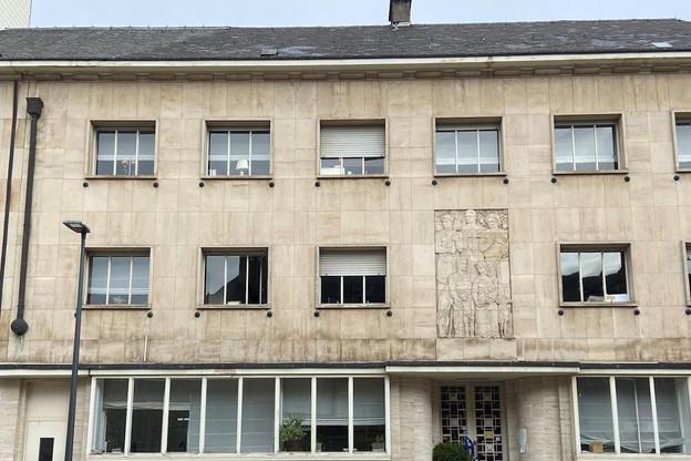 La façade historique de l'immeuble de l'ancien siège d'Editpress sera conservée et restaurée. (Photo: Immobel)
