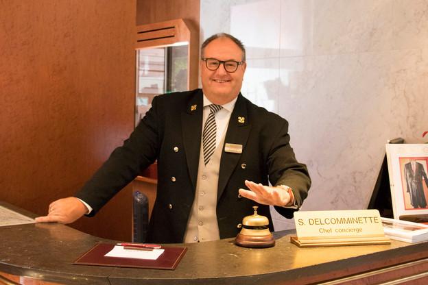 Simon Delcomminette est non seulement le chef concierge de l'hôtel Le Royal depuis 25 ans, mais aussi le président de l'association Les Clefs d'Or de Luxembourg. (Photo: Hôtel Le Royal)