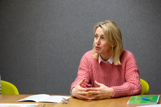 Anne Darin est aux côtés des membres de l'Union commerciale de la Ville de Luxembourg pour les aider dans ces moments difficiles. (Photo: Jan Hanrion/archives Maison Moderne)