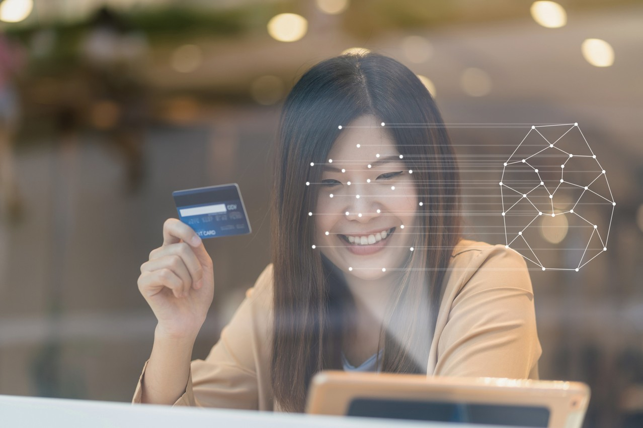 Easy biometric recognition is one solution banks can now use to ensure greater security. Shutterstock