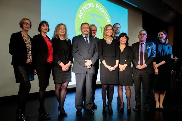 La sixième édition des «Actions positives» s'est tenue mercredi 13 novembre à Luxembourg. (Photo: Matic Zorman)