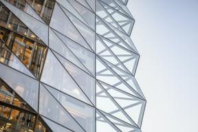 Le complexe du Royal-Hamilius a été imaginé par l'architecte britannique Norman Foster (Prix Pritzker) et son cabinet Foster + Partners. ((Photo: 11h45))
