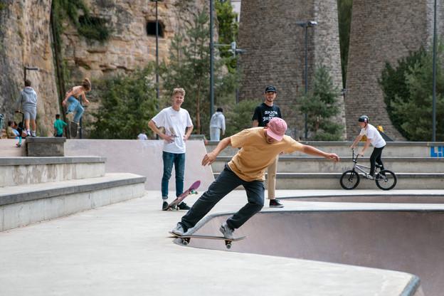 Le skateboard a profité pleinement des effets du confinement et de la visibilité offerte par les JO. (Photo: Romain Gamba / Maison Moderne)
