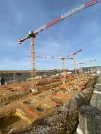 Vue du chantier en février2021. ((Photo: Costantini))
